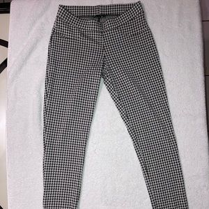 Guess houndstooth jegging pants
